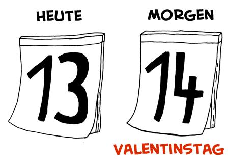 valentinstagerinnerung