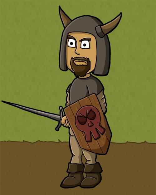 Adalbert, der mal Ritter werden möchte