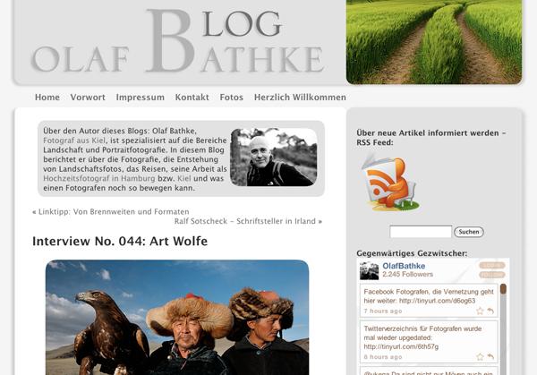 Olaf Bathke Blog
