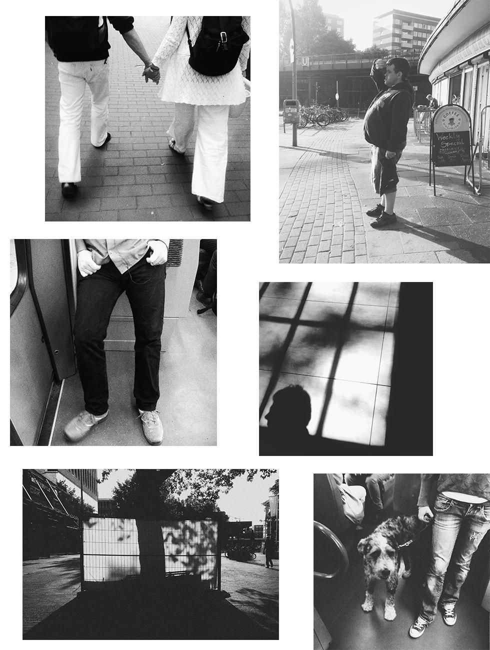 Schwarzweiße iPhonefotos